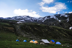 Ronti Gad Campsite / Rupin Pass/Captured in June