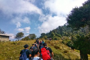 Trek from Deoriatal to Chopta