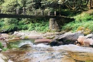 Midway between Deoriatal and Chopta