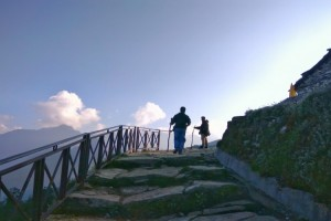 Towards Tungnath