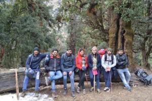 Deoriatal to Chopta Trek