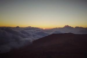 Sunrise during Trek to Sandakphu