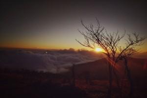 Sunrise during Trek