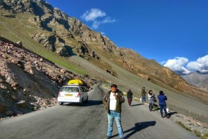 From Sarchu to Leh