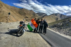 Celebrating Independence Day with other traveler friends
