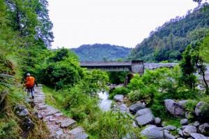 Returning from Kareri Lake to Kareri Village