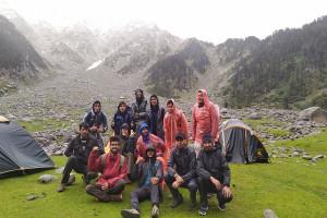 Group at Kareri Lake