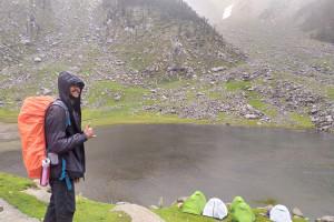 Rahbar Trek Lead at Kareri Lake