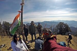 At Summit of Nagtibba
