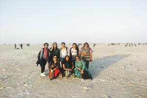 White desert of Rann of Kutch