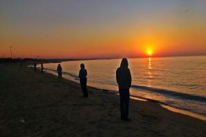 Sunrise at Mandvi Beach