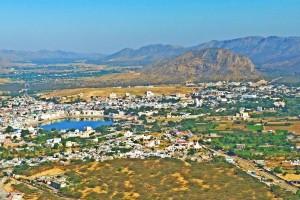 View of Pushkar from Gayatri Mata Temple