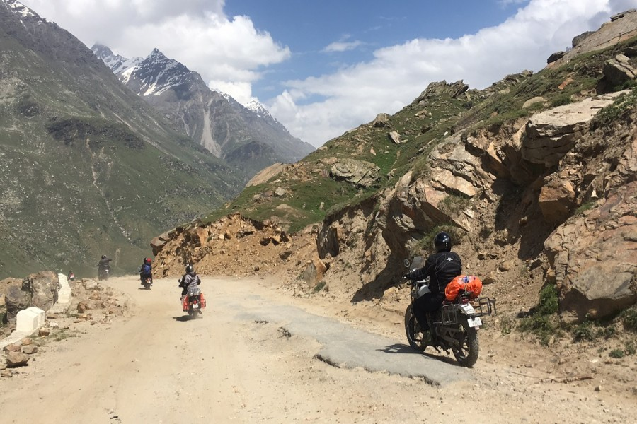 After crossing Rohtang Pass
