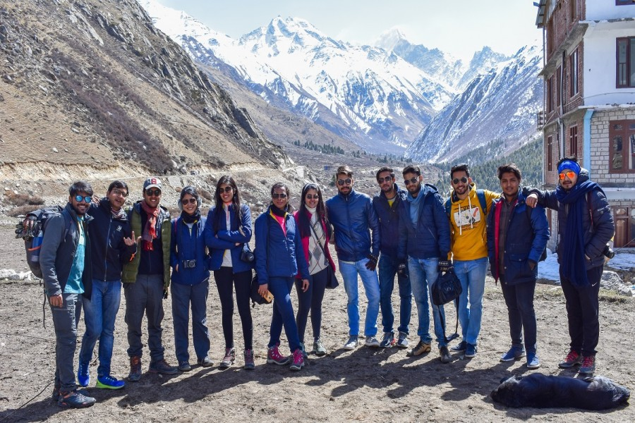 Group at Chitkul