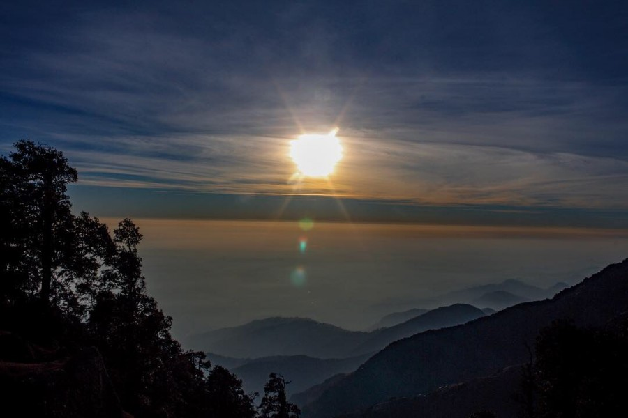 View from Triund Top