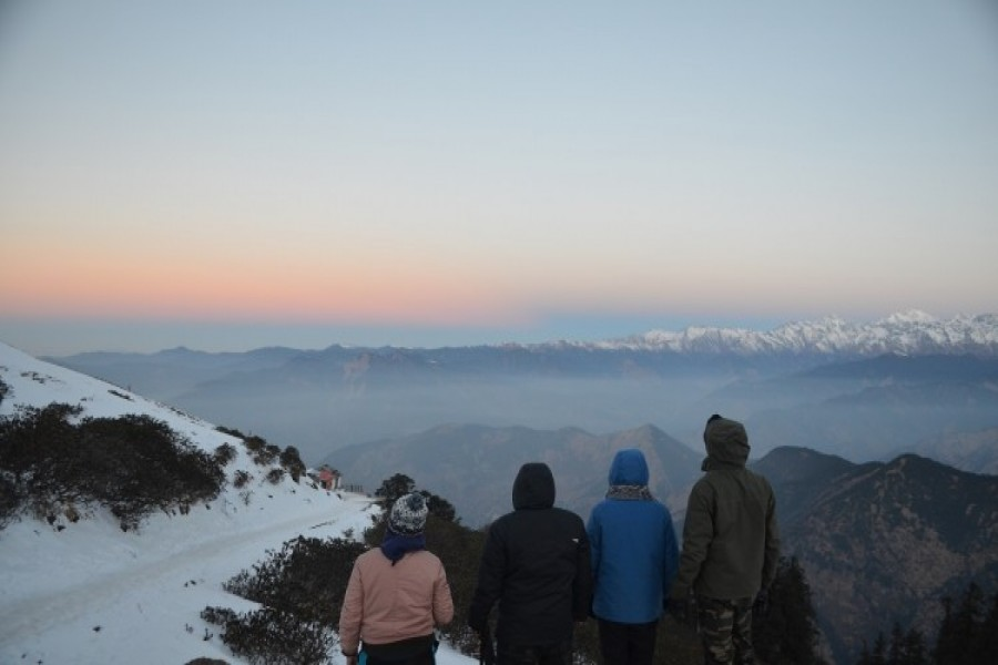 View from Tungnath Temple